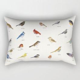 little nature birds Rectangular Pillow