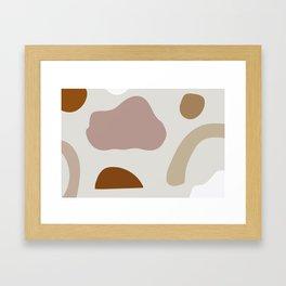 Shapes VII Framed Art Print