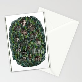 Little Forest Town Stationery Cards