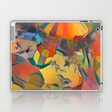 abstract Carnival ride Laptop & iPad Skin