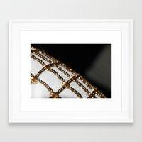 gem Framed Art Prints featuring Gem by Allison Motola