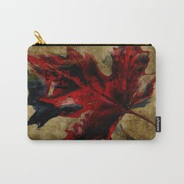 Canadian Maple Leaf Fall Edit  Carry-All Pouch