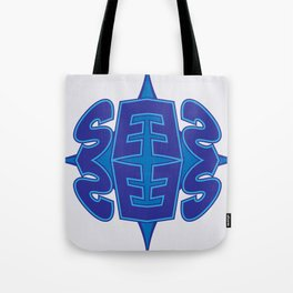 Abstract Typo Tote Bag
