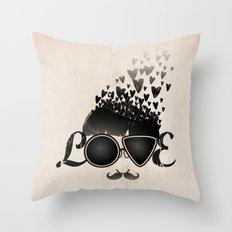 Blind Love Throw Pillow