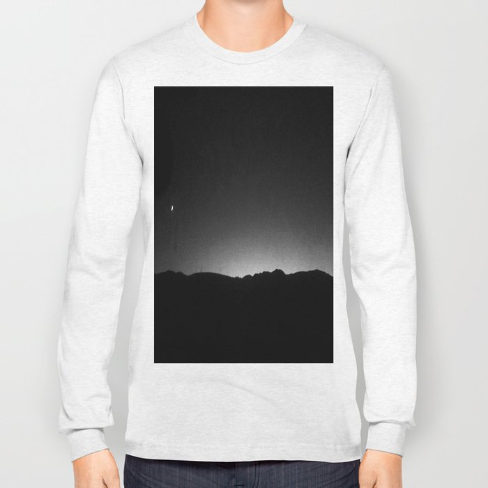 FRENCH LANDSCAPE AT NIGHT  Long Sleeve T-shirt