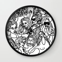 Real Housewives pt.1 Wall Clock