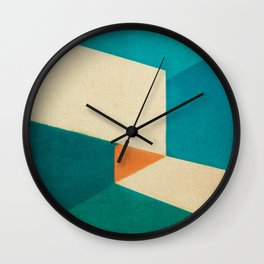 Direction Change 7 Wall Clock