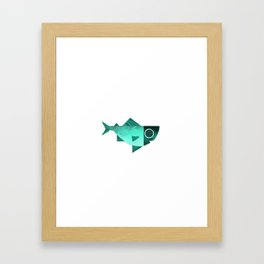 Cian fish Framed Art Print