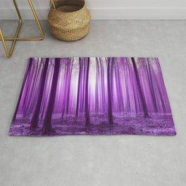 Mystical forest purple 43 Rug