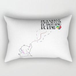 Autism Awareness (Be Kind) Rectangular Pillow