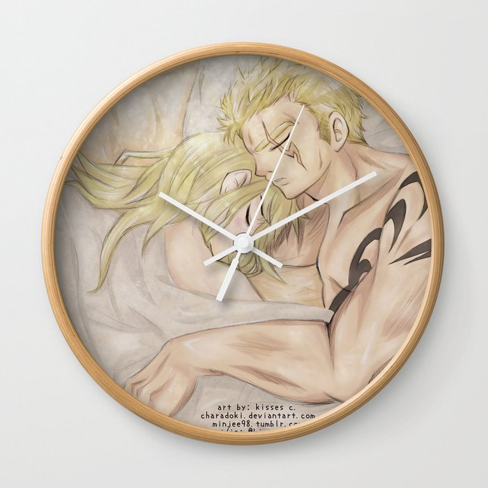 Next to You Wall Clock