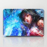 league iPad Cases featuring League of Legends - Ahri by Raditya Giga