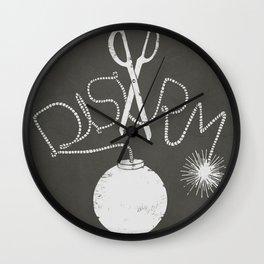 Disarm  Wall Clock