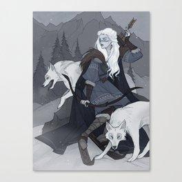 Skadi Canvas Print