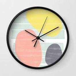 Beach Vibes #society6 #abstractart Wall Clock