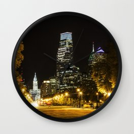 April Lights Wall Clock