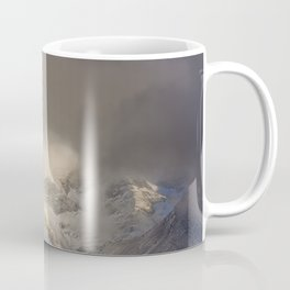 The Mountains are calling, and I must go.  John Muir. Vintage. Coffee Mug
