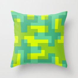 pixel 001 03 Throw Pillow