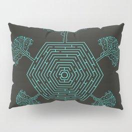 Natural Maze Pillow Sham