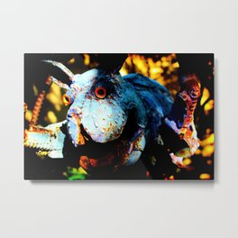 Who Let The Dogs Out Metal Print