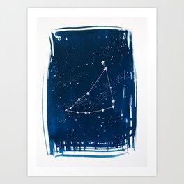 Capricorn Zodiac Print Art Print