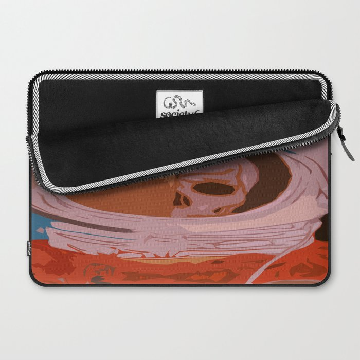 Decay of Exploration Laptop Sleeve