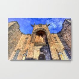 Edinburgh Castle Scotland Metal Print