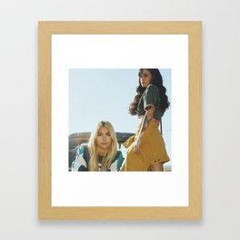 Kehlani x Hayley Kiyoko 2 Framed Art Print