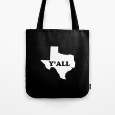 Texas Yall Tote Bag