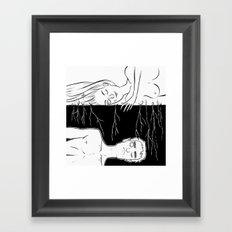 Eternal love Framed Art Print