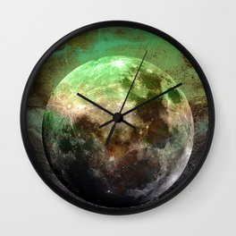 MOON under MAGIC SKY V-1 Wall Clock