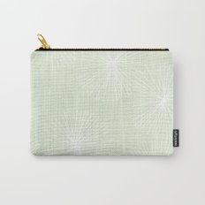 Dandelions in Mint by Friztin Carry-All Pouch