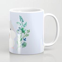 Furball in the garden Coffee Mug
