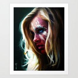 Reaper Clarke Art Print