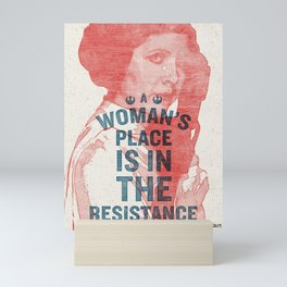 A Woman's Place Mini Art Print