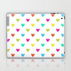 Love hearts Laptop & iPad Skin