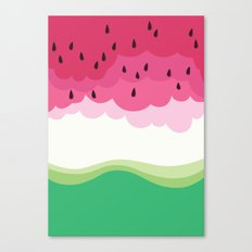 Big watermelon Canvas Print