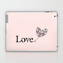 Love Heart Laptop & iPad Skin