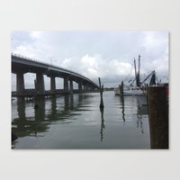 florida Canvas Prints featuring Florida by Ragan Expressions