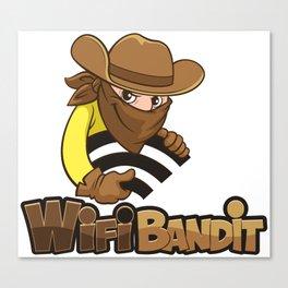 WiFi Bandit Canvas Print