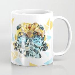 Bumblebee Low Poly Portrait Coffee Mug