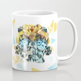 Bumblebee Low Poly Portrait Coffee Mug