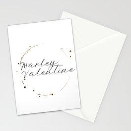 Marley Valentine Stationery Cards