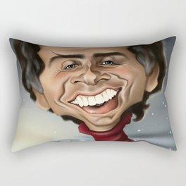 Carl Sagan - Caricature Rectangular Pillow