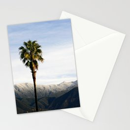 Southern California Snow Stationery Cards