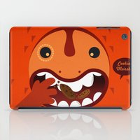 cookie monster iPad Cases featuring Cookie Monster by Ilias Sounas