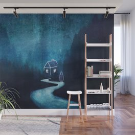 Alone In A Ghost Town Wall Mural
