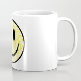 Splattered Smiley Face Coffee Mug