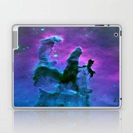Nebula Purple Blue Pink Laptop & iPad Skin
