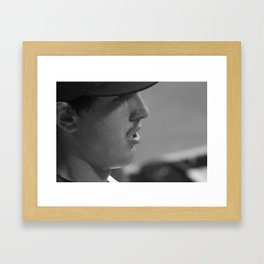 Derek Holland Framed Art Print